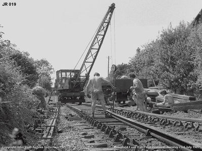 Merryfield Lane point removal. Tues 23rd July 1985