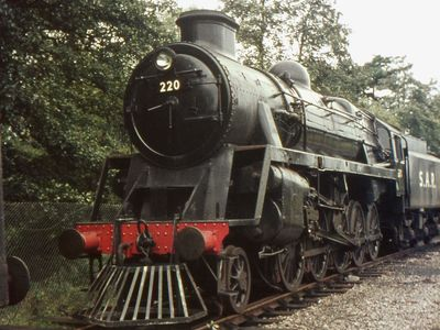 Black Prince modified for it's part in the film 'Young Winston'. 1971