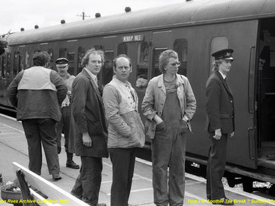 23rd June 1985. Another great bunch of volunteers.  Denise, Brian, Chris, Keith and Kevin