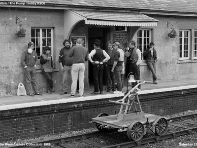 Cranmore Station before the start of the railways