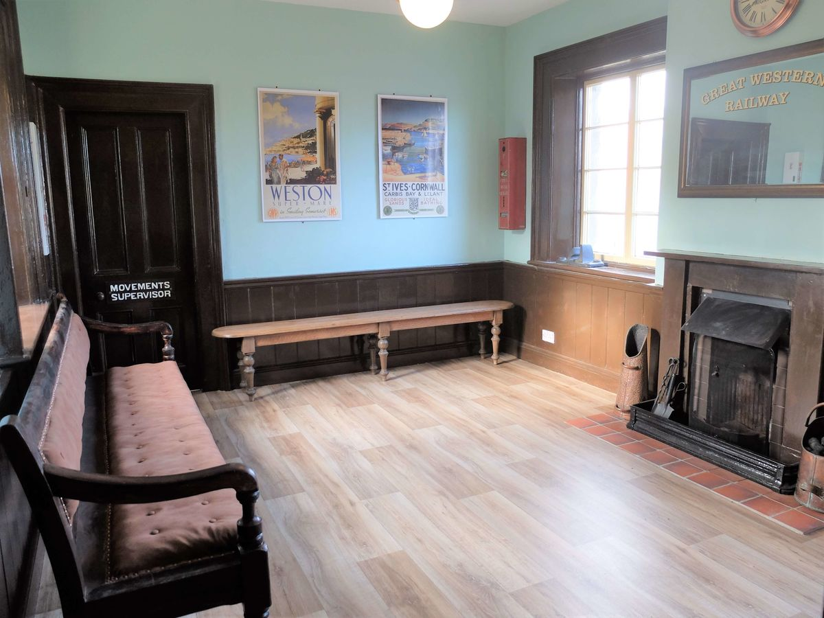 the refurbished waiting room ESR